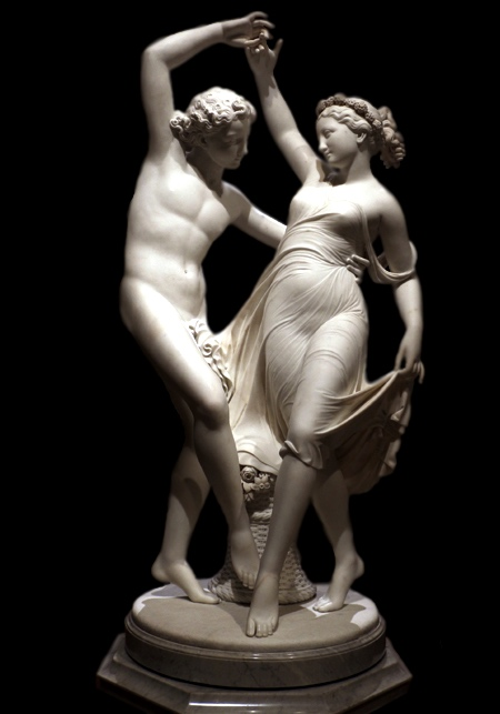 ZEPHYR DANCING WITH FLORA. 1870.